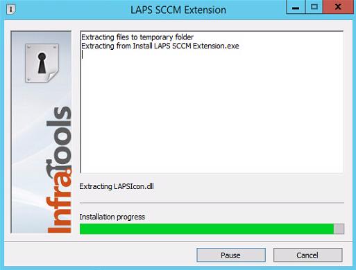 LAPS SCCM Extension - Installing