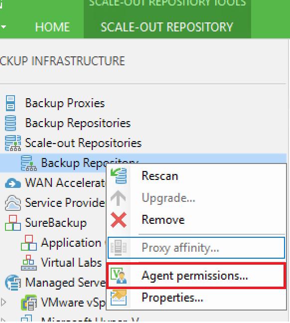 Veeam Agent for Microsoft Windows - Backup Repository - Configure