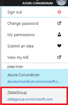 Microsoft Azure Active Directory - Sign out