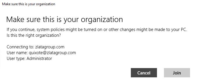 Microsoft Azure Active Directory - Verification