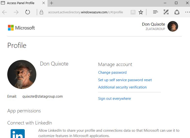 Microsoft Access - Profile