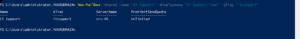 PowerShell - Alias - ServerName - ProhibitSendQuota