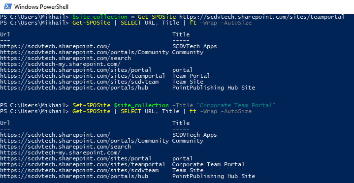 Windows PowerShell - summary