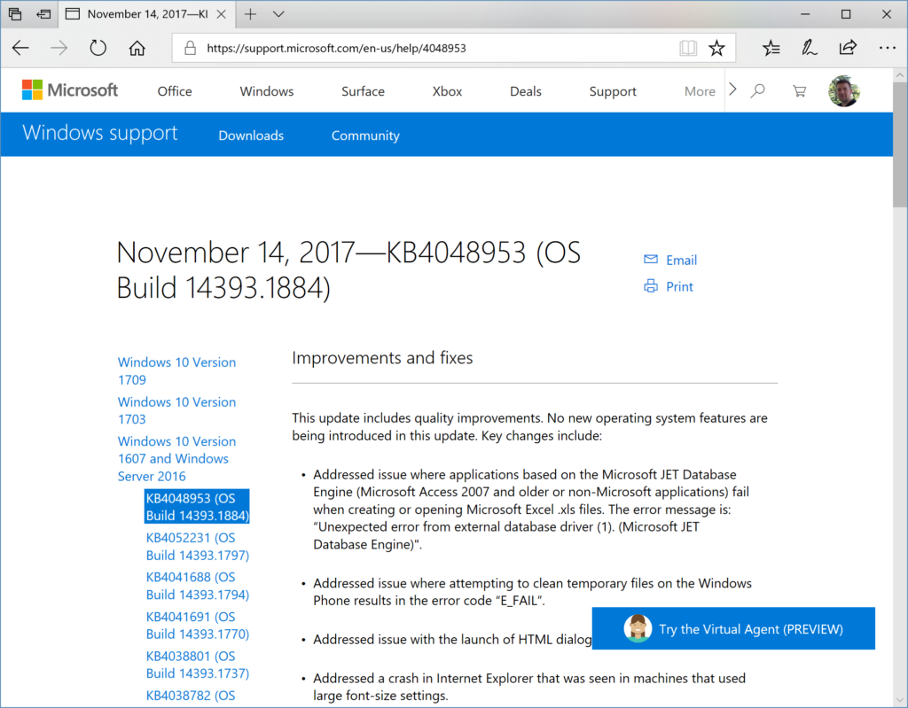 Microsoft Windows Support - Improvements and fixes