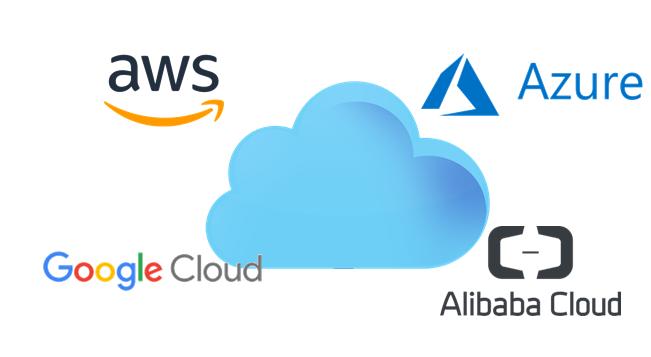 CLOUD - AWS, Google, Azure, Alibaba - logo