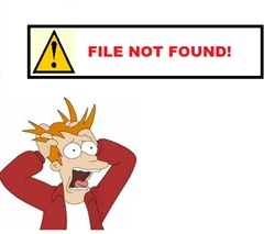 OOPS - File Not Found