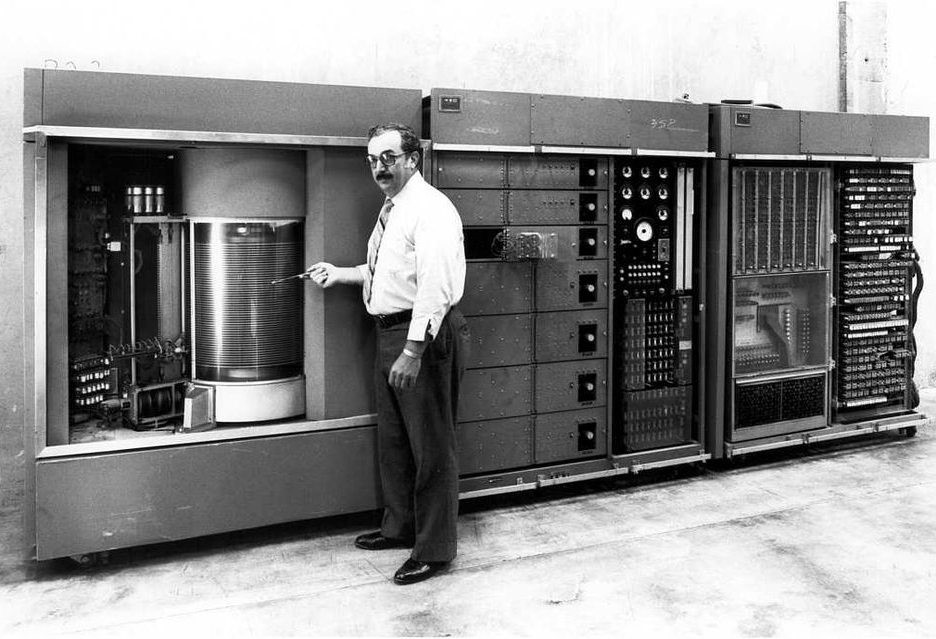 IBM 350 - 1956 year
