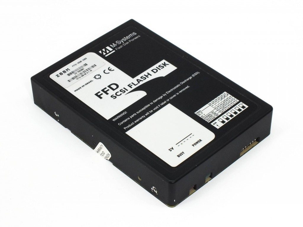 FFD SCSi FLASH DISK - 1995 year
