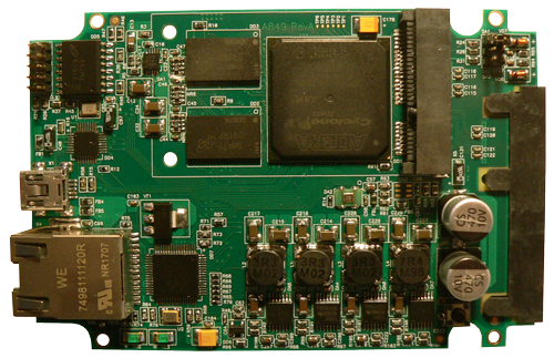 AcloudA hardware device board v2