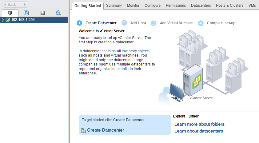 VMware - vCenter - Getting Started