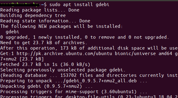 Run all such commands as a sudo user