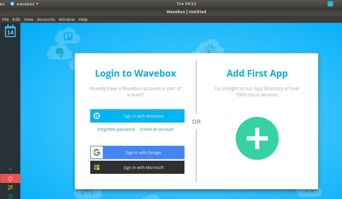 Wavebox UI