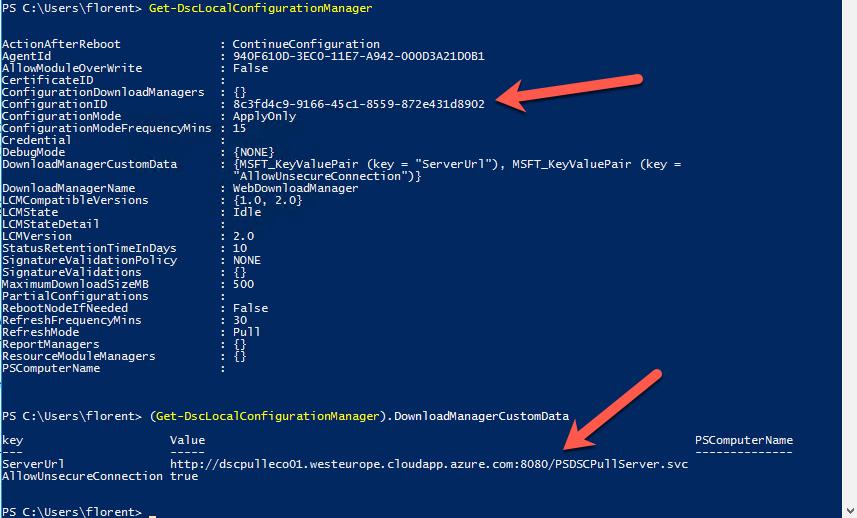 Get-DscLocalConfigurationManager